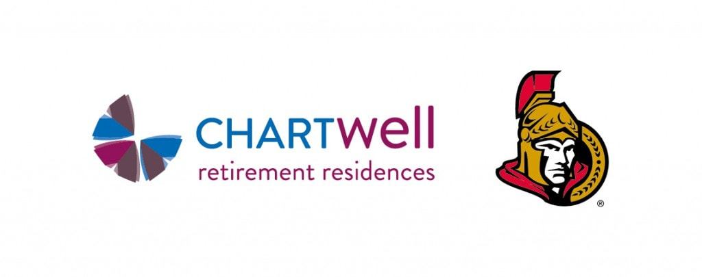 Chartwell Retirement Residences and the National Hockey League's Ottawa Senators announce exclusive partnership