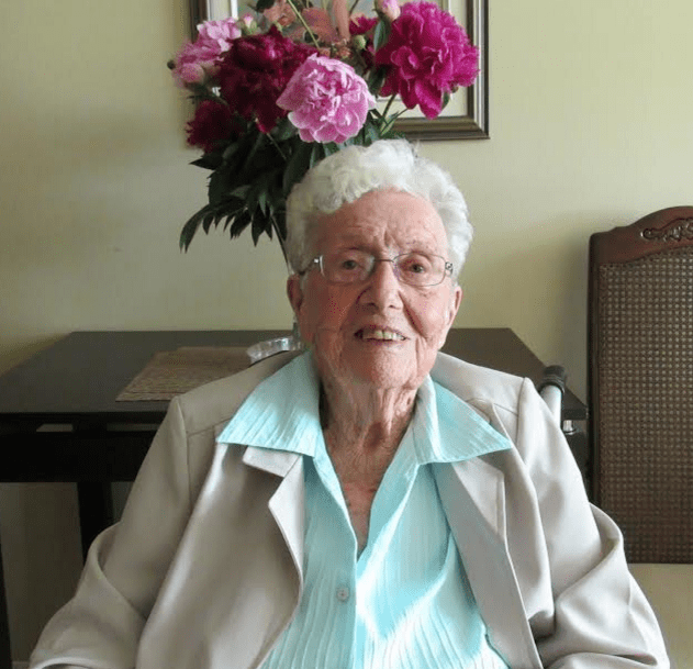Retired teacher discusses life in a retirement residence