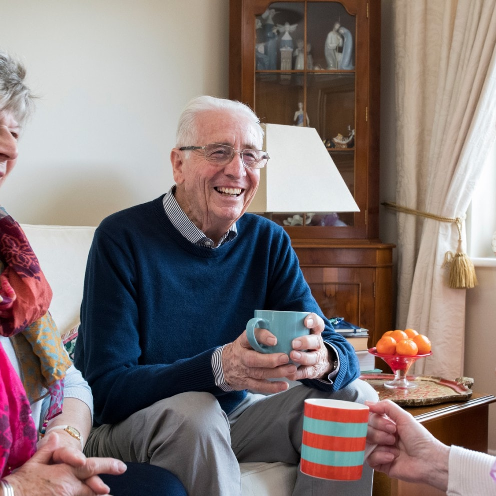 For seniors friends come with healthy benefits