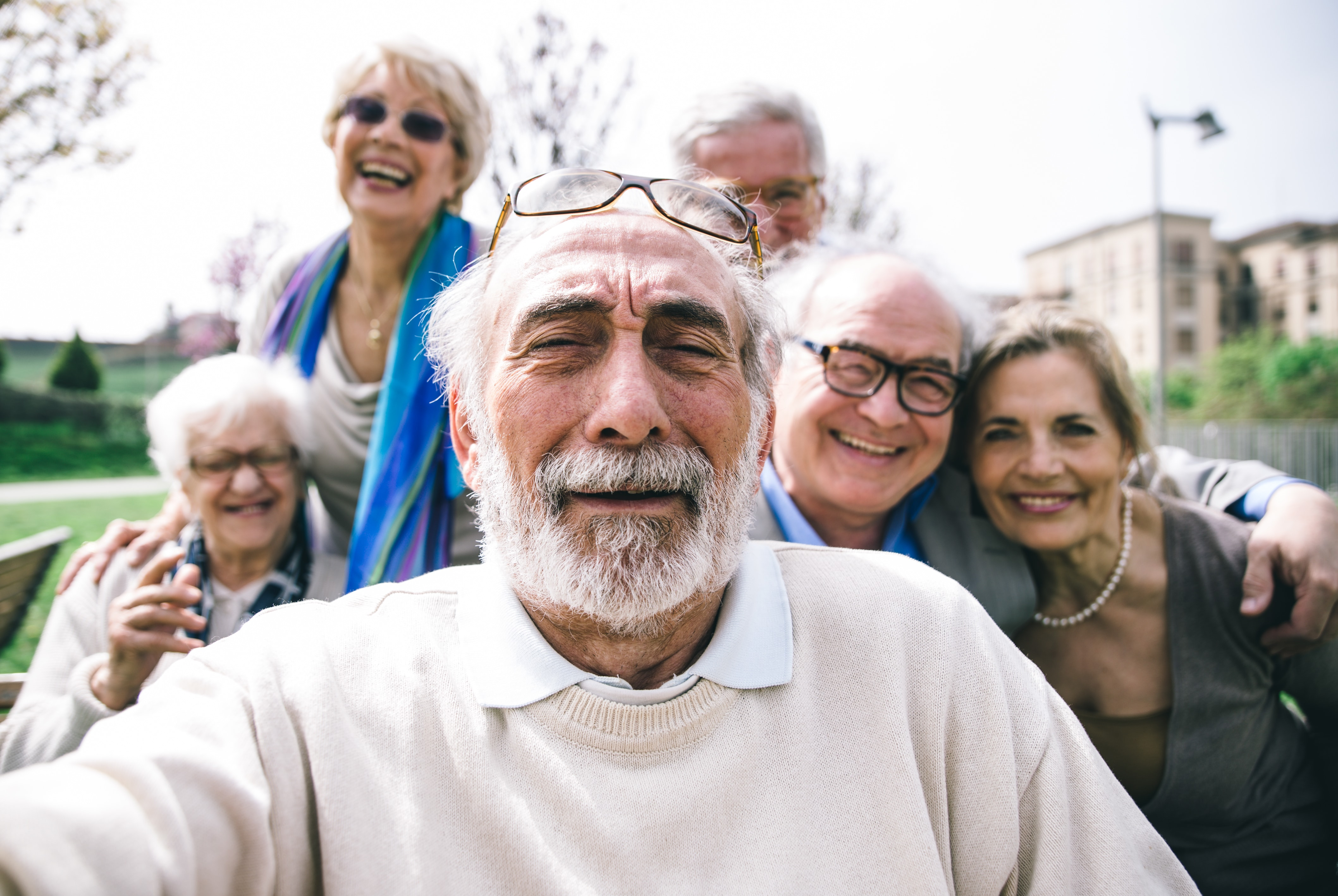 Canadians 55+ among happiest people in the country