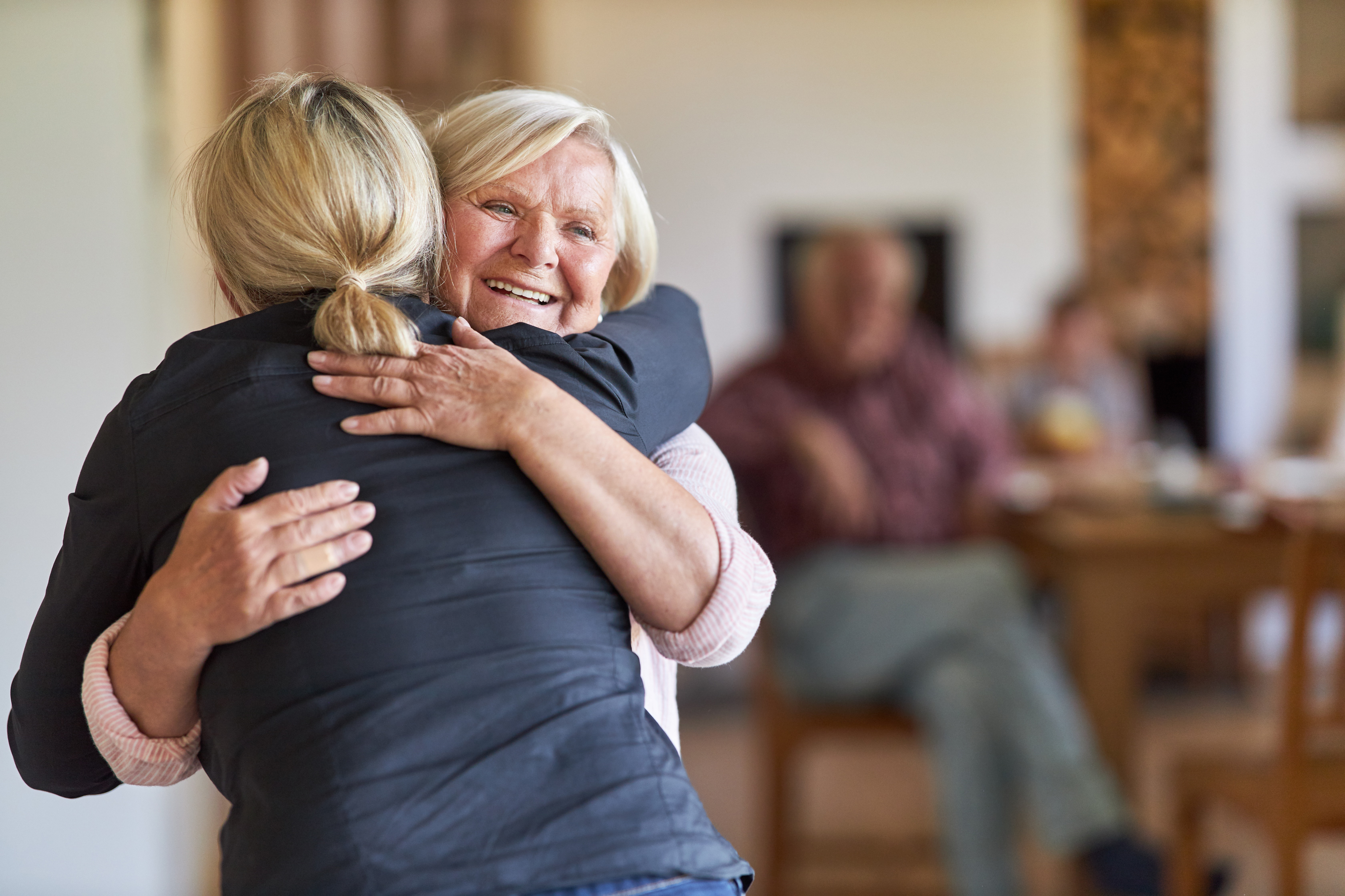 The healing power of hugs for seniors