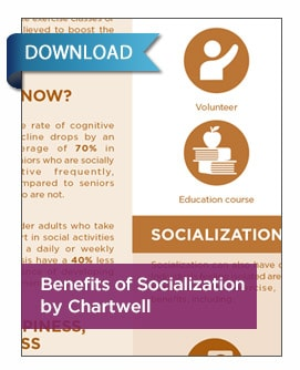 Benefits of Socialization Infographic print version