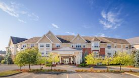 beautiful exterior of Chartwell Conservatory Pond Retirement Residence