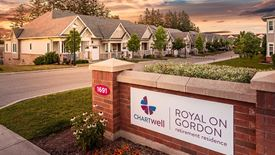 beautiful exterior of Chartwell Royal on Gordon Retirement Residence