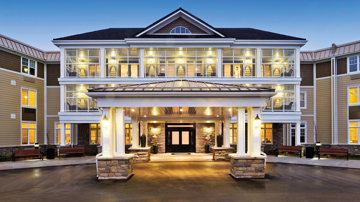beautiful exterior of Chartwell Tiffin Retirement Residence